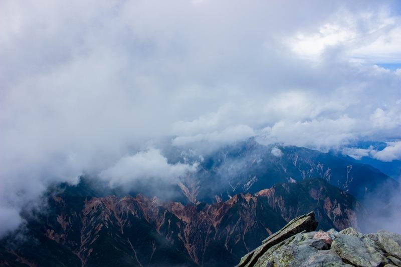 山頂からの景色その1