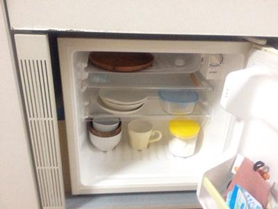 ミニ冷蔵庫の中身
