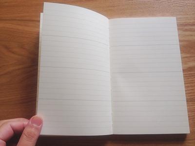 MDノートダイアリー 新書サイズ メモページ