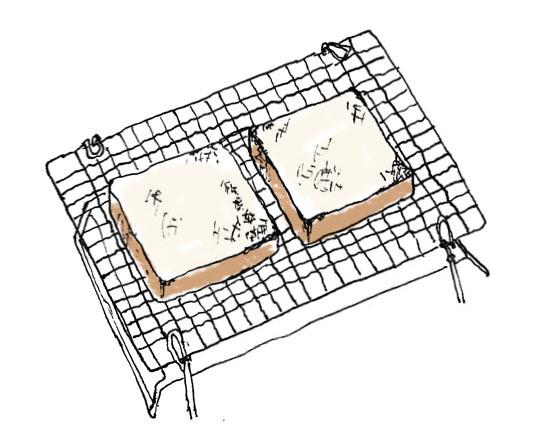 トースト イラスト