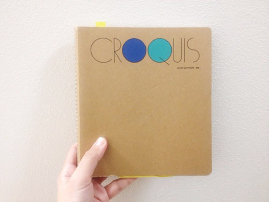 マルマンのクロッキー帳