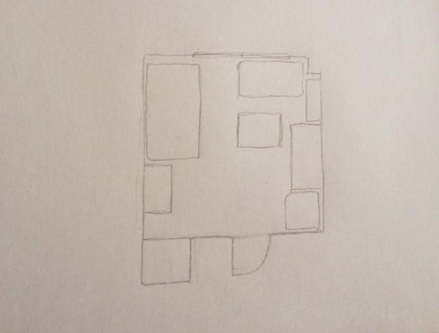 間取り図の書き方