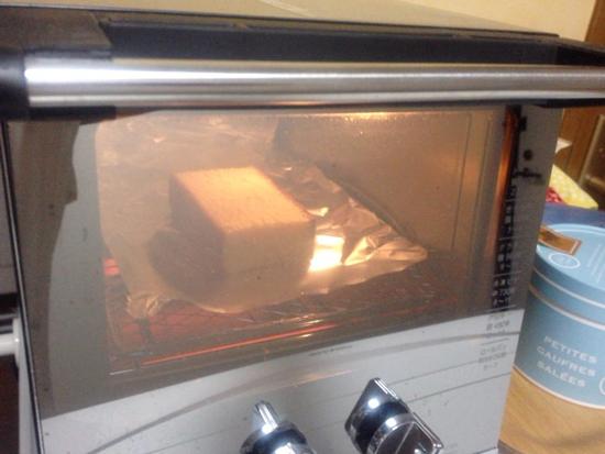 カステラ オーブントースター