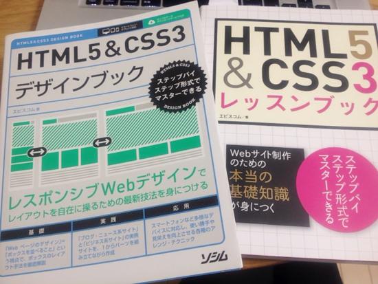 HTML&CSS5 レッスンブック デザインブック