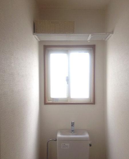 突っ張り棚 トイレ