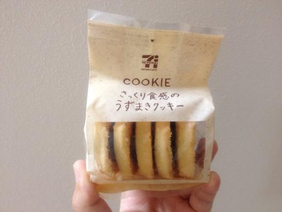 セブンイレブンの、さっくり食感のうずまきクッキー