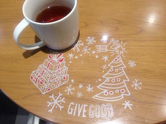 スタバ クリスマス ほうじ茶
