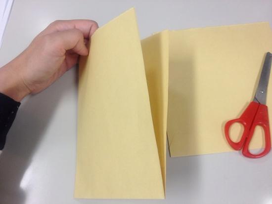 封筒から作る、ノートのポケット