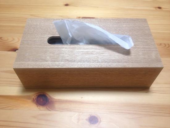 ニトリ ティッシュボックス ケース 木製