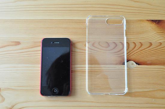 100均のiPhone7plusケース