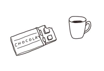 チョコのイラスト