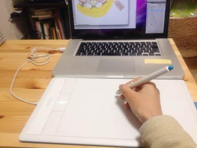 パソコンでお絵描き