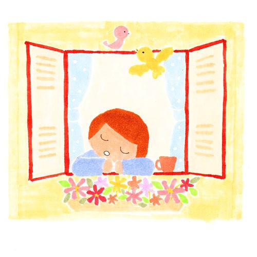 $手帖と暮らす日々。 ー chihiro illustration and diary-13pic_007_madobe