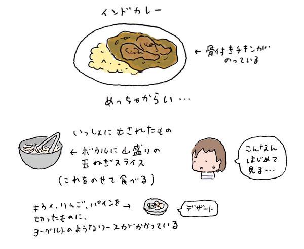 $ゆるくてかわいい。ゆるかわイラスト工房chihiro-130603_curry1