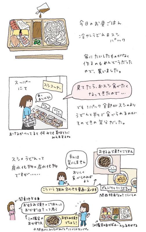 $ゆるくてかわいい。ゆるかわイラスト工房chihiro-130613_hirugohan