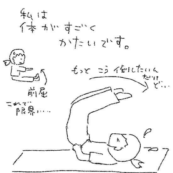 $ゆるくてかわいい。ゆるかわイラスト工房chihiro-130625yoga