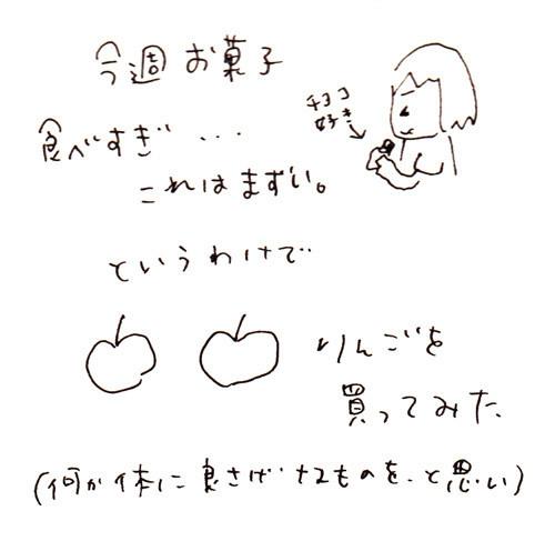 $ゆるくてかわいい。ゆるかわイラスト工房chihiro-130803_ringo