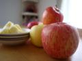 [おやつ]りんご