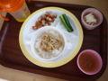 [離乳食]2013年8月21日の離乳食