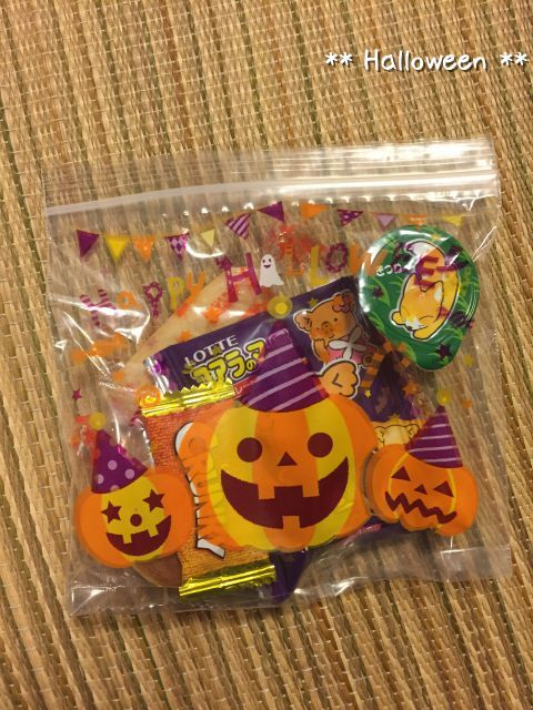 [あれこれ]Halloweenお菓子