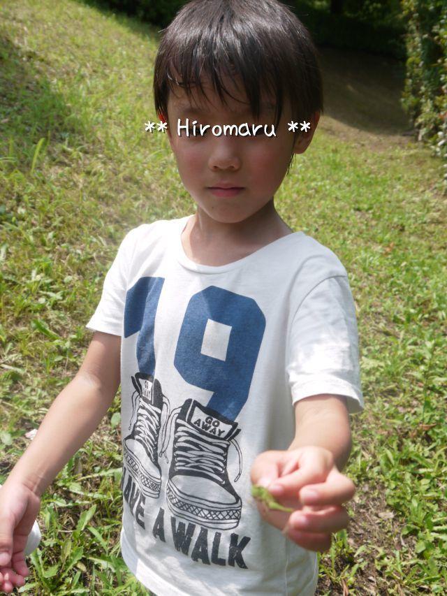 ひろ6歳、ふるさと公園