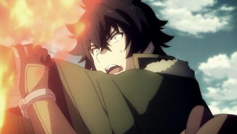盾の勇者の成り上がり8話『呪いの盾』