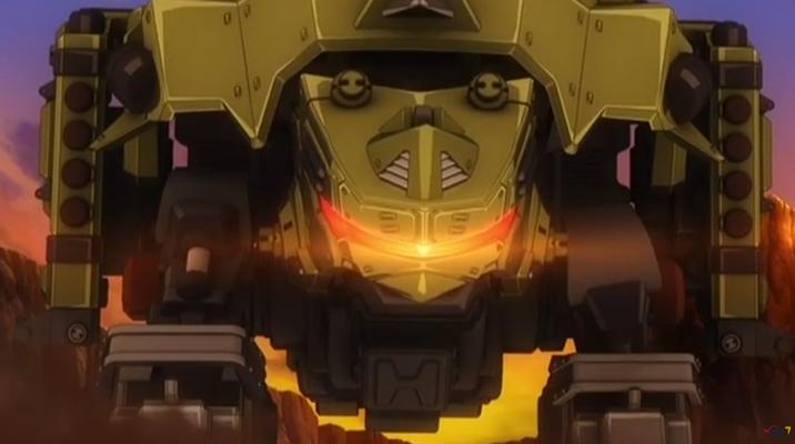ゾイドワイルドZERO2話「爆砕の武器庫! バズートル」