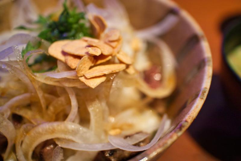 ステーキ丼(ステーキバーマサ)
