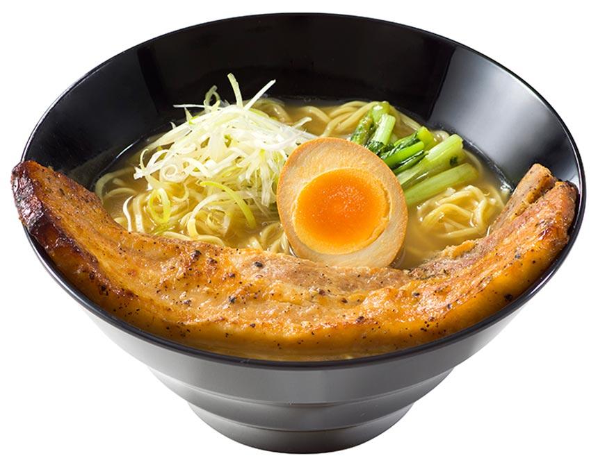ブラックペッパーポーク麺