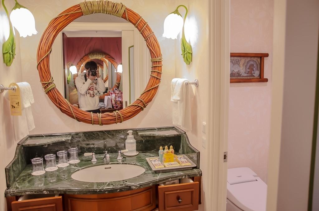 ティンカーベルルーム洗面所
