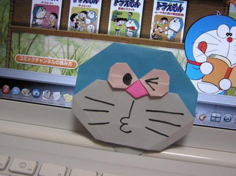簡単 折り紙 折り紙 ドラえもん 折り方 : q.hatena.ne.jp