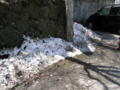 [榛名湖]まだ雪が残ってた