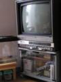 82年制ゼネラルのテレビ。なぜか農協で購入。