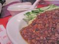 [たべもの][ラーメン]炸醤麺