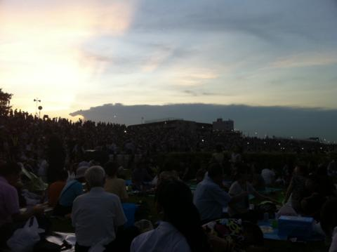納涼花火大会2011.7.26/今こんな感じ。