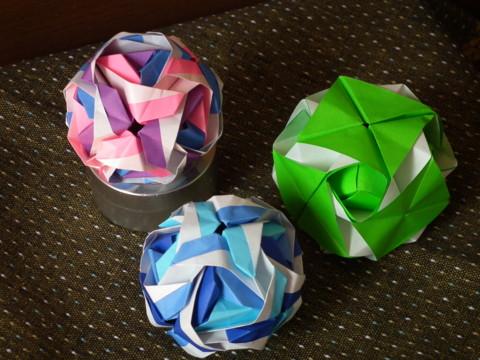 クリスマス 折り紙 折り紙くす玉の作り方 : d.hatena.ne.jp