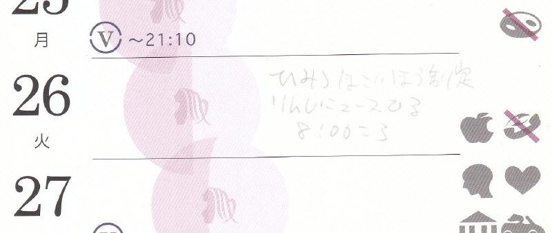 アストロカートグラフィ カレンダー 131126