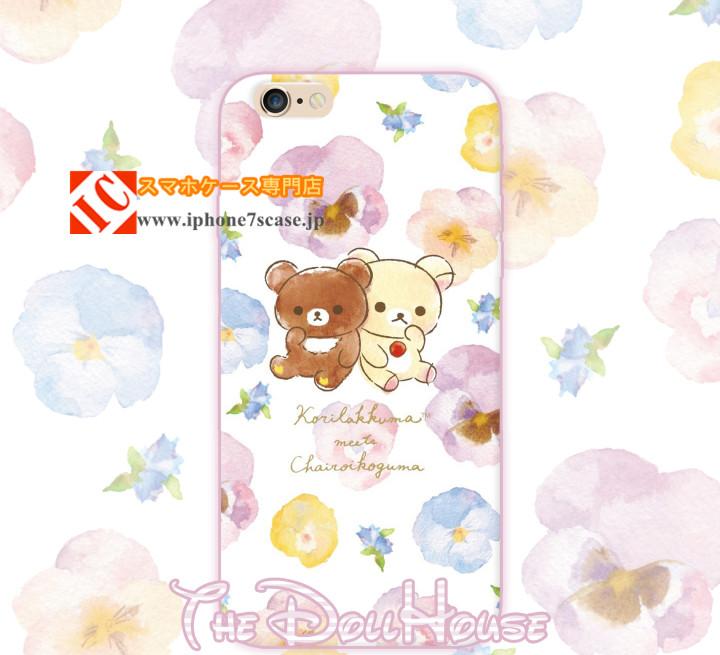 アニメキャラクターのiPhoneX/8/7Plus/6sケース
