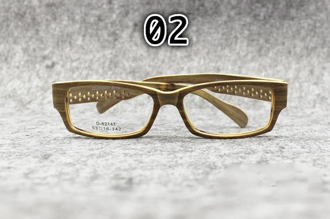 四角木製眼鏡メガネ スクエア ブランド
