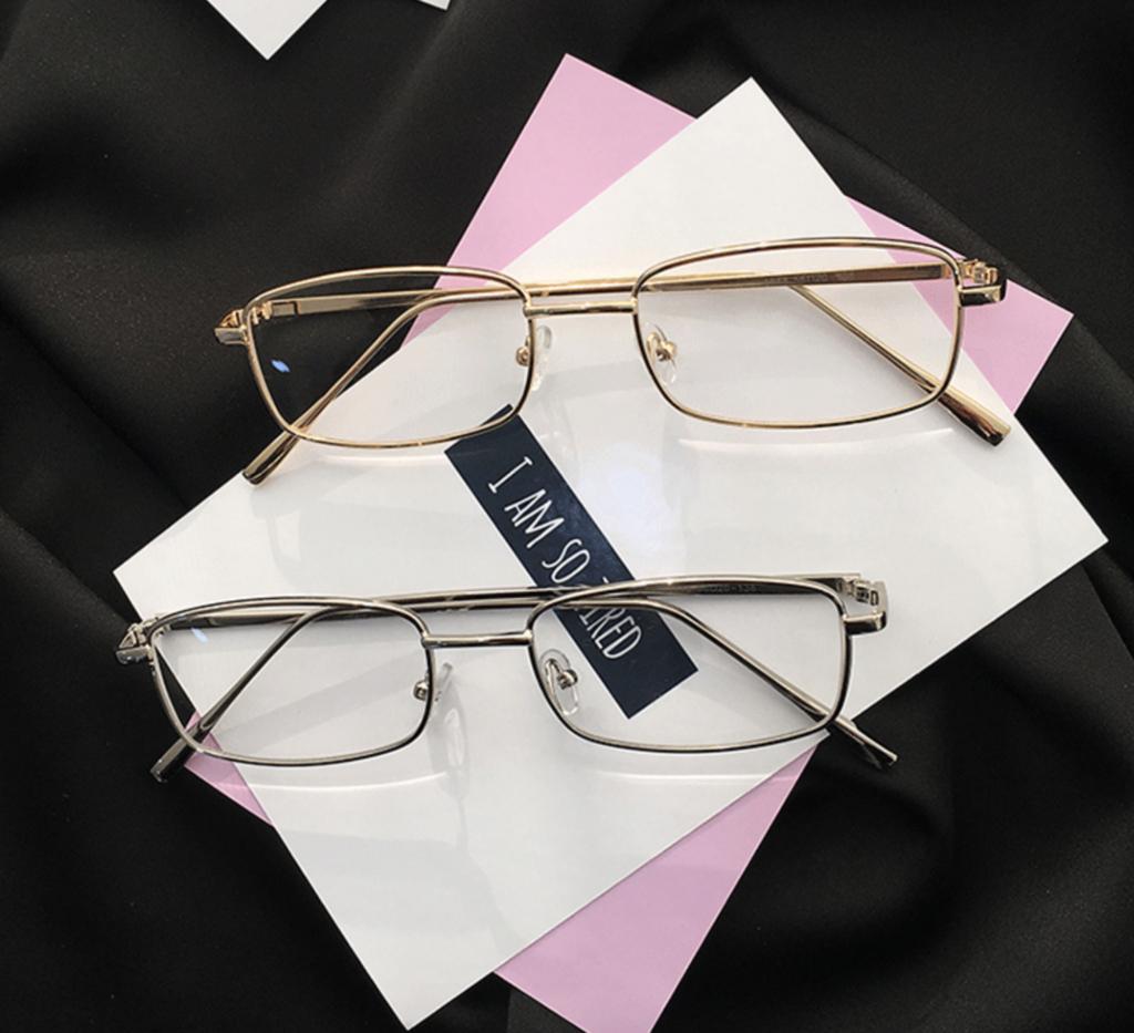 スクエア型眼鏡鯖江メガネ おしゃれ ビジネス