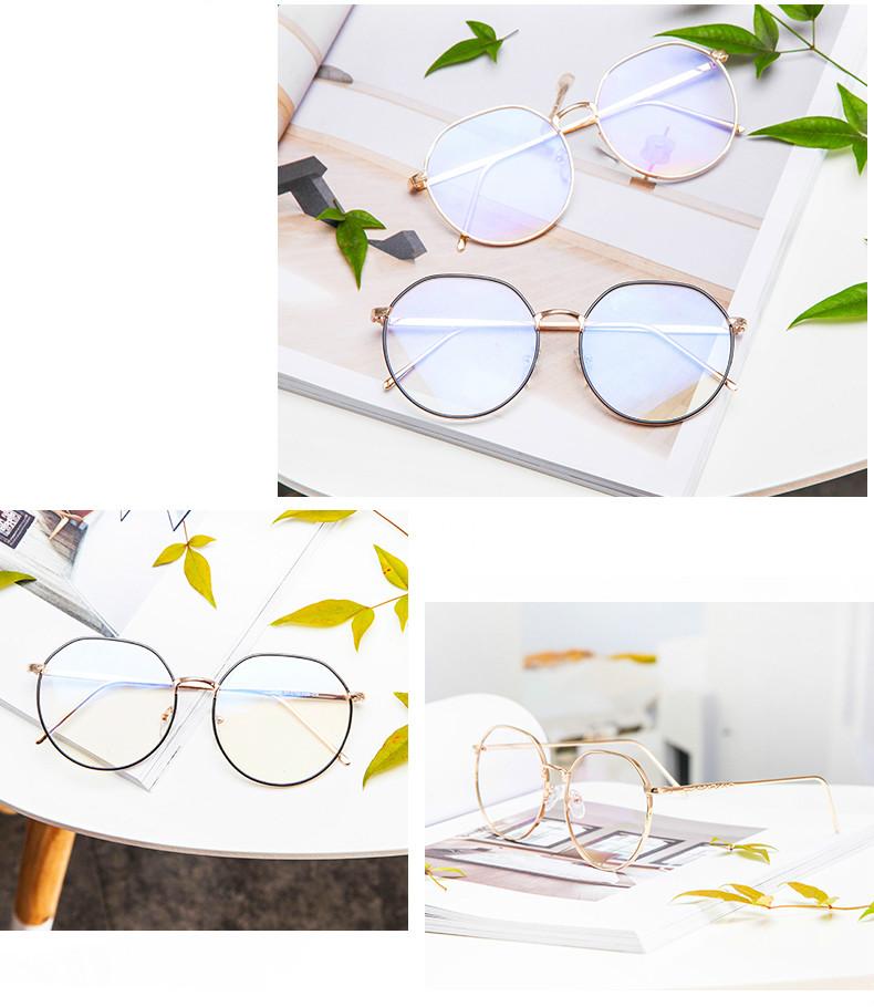おしゃれUVカットレンズメガネ 流行眼鏡 トレンド