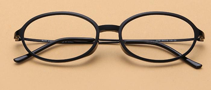 通販眼鏡 黒縁  フレーム 細いメガネ軽い