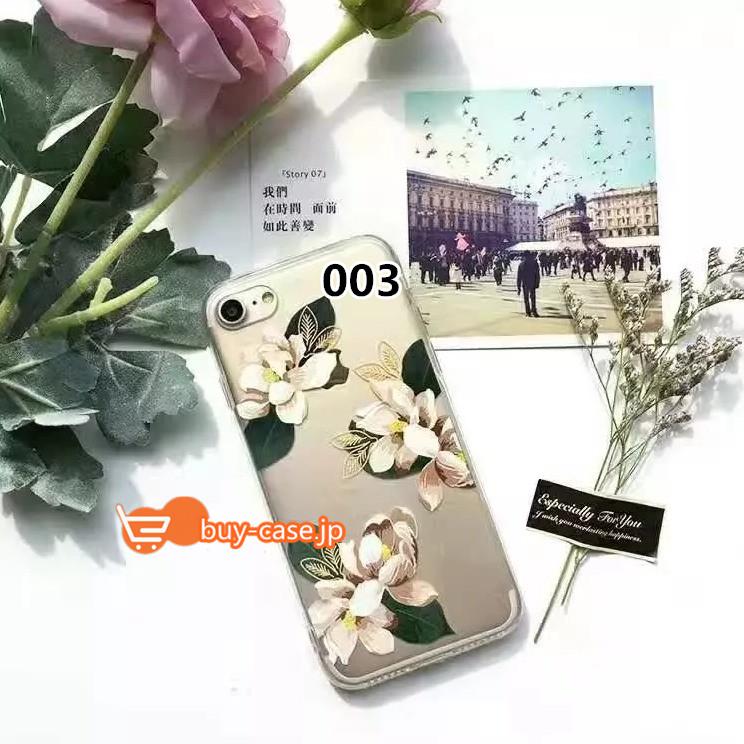 Sonix透明おすすめ iphoneXS Max ケース花柄クリア