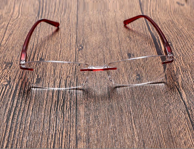 快適老眼鏡 リムなしおしゃれ超軽量