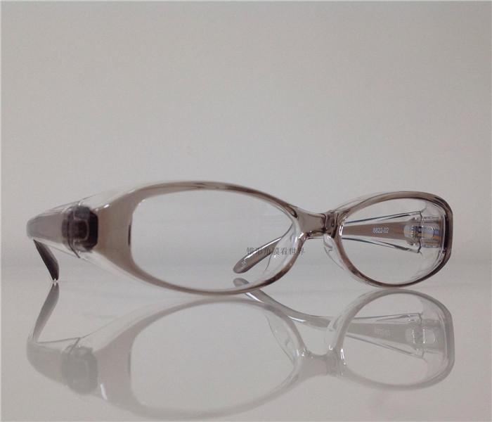 花粉症用メガネ 大きいフレーム花粉防止メガネ