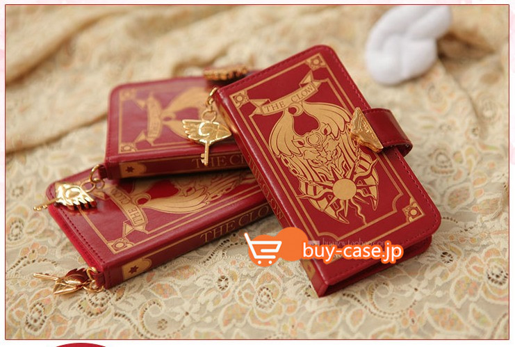 カードキャプターさくらiPhone XS/XS Max/X/8スマホカバー 手帳 かわいい