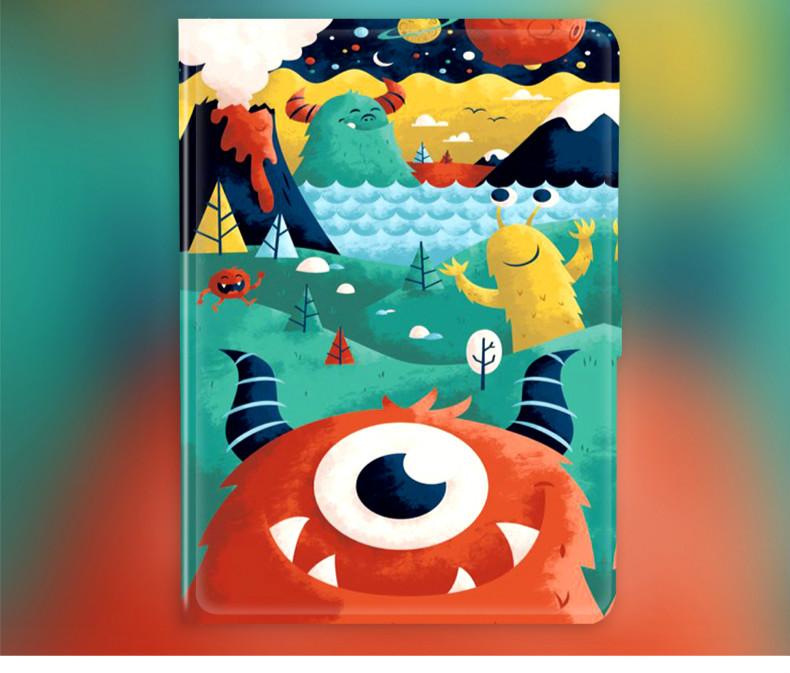 ピカチュウパロディ ipadケース