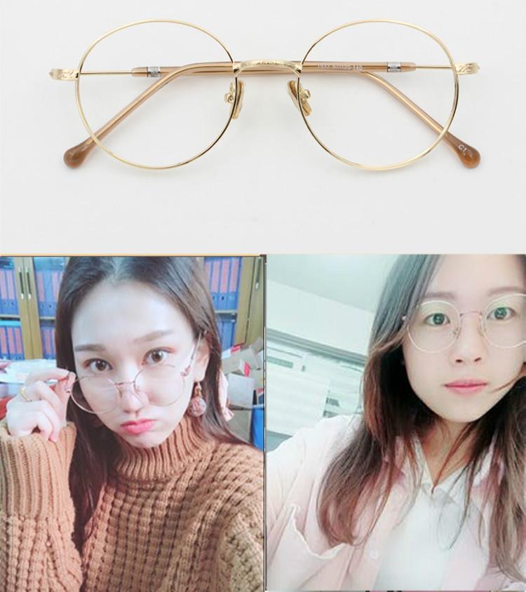 レディース今流行の眼鏡フレームメガネ