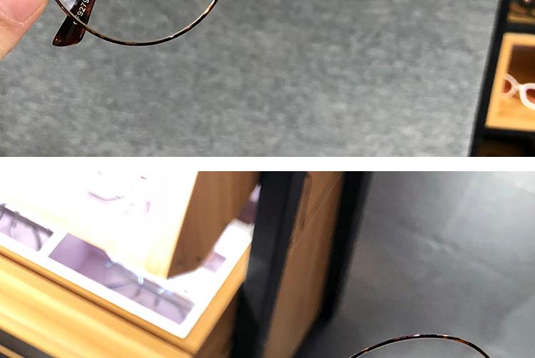 おしゃれ丸い鼈甲柄 メガネ 人気フレーム