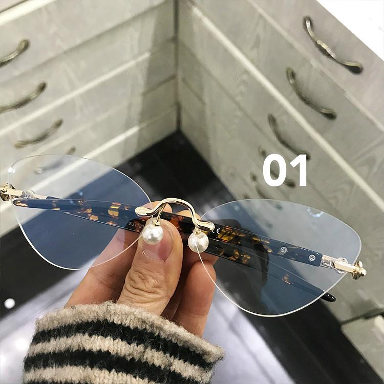 オーバル型おもしろフレームメガネ伊達メガネ ブランド